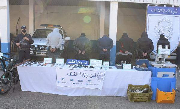شرطة الشلف